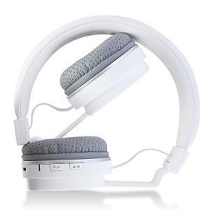 イヤホンFeicuan Bluetooth Wireless Earphone Headphone Headhand Folding Stereo Headset Universal for Phone Computer -White|planetdream