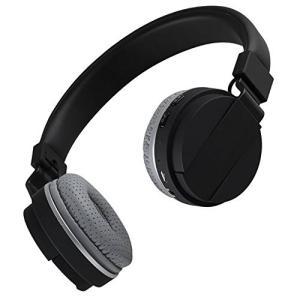 イヤホンFeicuan Bluetooth Wireless Headphone Headhand Folding Stereo Headset Universal for Phone Computer -Black|planetdream