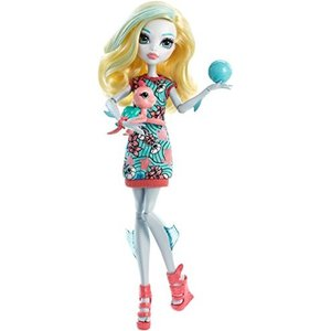 モンスターハイMonster High Ghoul's Beast Pet Lagoona Blue Doll|planetdream