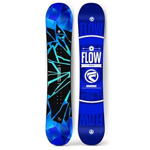 スノーボードFlow 2019 Men's Burst (Wide) Snowboard (158cm Wide)|planetdream