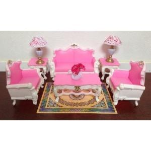 1/6ドールMy Fancy Life Dollhouse Furniture - Deluxe Living Room Playset|planetdream