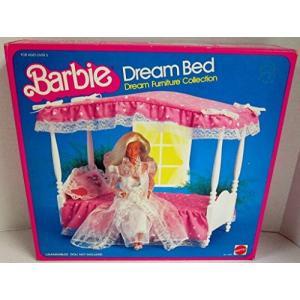 1/6ドール1982 Canopy Dream Bed Barbie Dream Furniture Collection No. 5641|planetdream