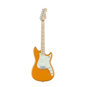 フェンダーFender Duo Sonic Electric Guitar - Maple Fingerboard - Capri Orange|planetdream