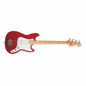 フェンダーSquier by Fender Bronco Bass, Torino Red with Maple Fingerboard|planetdream