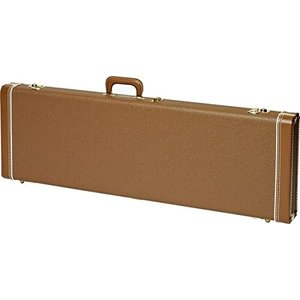 フェンダーFender Jaguar/Jazzmaster/Toronado/Jagmaster Multi-Fit Case - Brown with Gold Plush Interior|planetdream