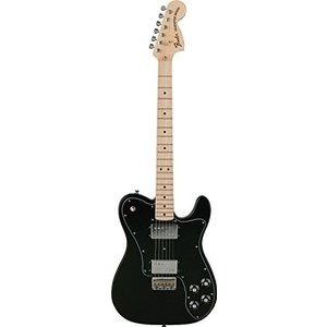 フェンダーFender Classic Series 72 Telecaster Deluxe Electric Guitar, Maple Fingerboard - Black|planetdream