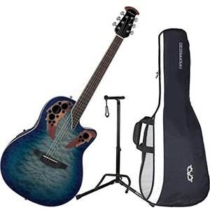 オベーションOvation CE48P-RG Celebrity Elite Plus Super Shallow Regal to Natural Acoustic/Electric Guitar with Gig Bag and G|planetdream
