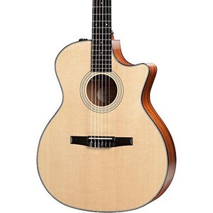 テイラーギターTaylor 314ce-N Nylon String Grand Auditorium Acoustic Guitar , Sapele|planetdream