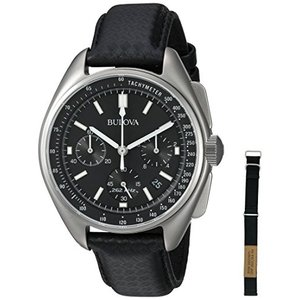当店1年保証 ブローバBulova Men's Lunar Pilot Chronograph Watch 96B251|planetdream