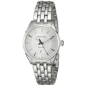 当店1年保証 ハミルトンHamilton Women's H42215151 Jazzmaster Analog Display Automatic Self Wind Silver Watch|planetdream