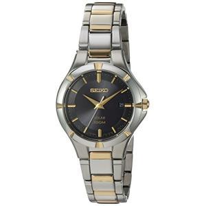 当店1年保証 セイコーSeiko Women's Japanese-Quartz Watch with Stainless-Steel Strap, Two Tone, 7 (Model: SUT316)|planetdream