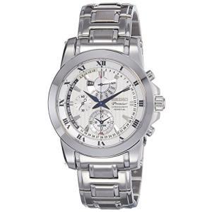 当店1年保証 セイコーSEIKO SPC159P1,Men's Premier,Perpetual Alarm Chronograph,Stainless Steel Case & Bracelet,Sapphire C|planetdream