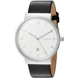 当店1年保証 スカーゲンSkagen Men's SKW6291 Ancher Black Leather Watch|planetdream
