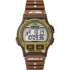 当店1年保証 タイメックスTimex Ironman Triathlon   Original 8-Lap Timer Brown Resin   Sport Watch T5K842 planetdream