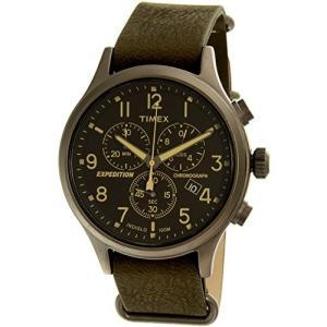 当店1年保証 タイメックスTimex Men's Expedition TW4B04100 Silver Leather Quartz Watch|planetdream
