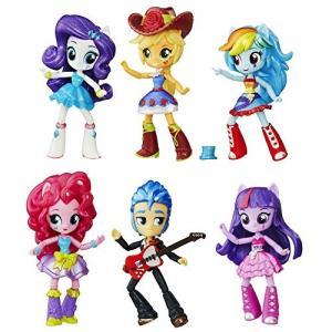 マイリトルポニーHasbro B8892 - My Little Pony Toy - Equestria Girls School Dance Collection - 6 x Mini Doll Playset|planetdream