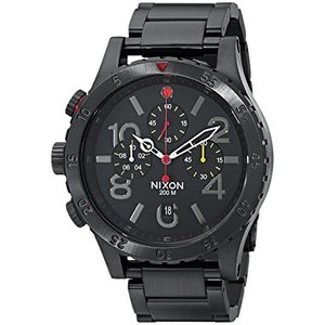 当店1年保証 ニクソンNixon Men's A4861320 48-20 Chrono Watch|planetdream