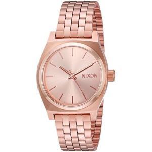 当店1年保証 ニクソンNIXON Medium Time Teller A1130 - All Rose Gold - 100m Water Resistant Women's Analog Classic Watch|planetdream