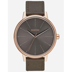 当店1年保証 ニクソンNIXON Kensington Leather A108 - Rose Gold/Taupe - 50m Water Resistant Women's Analog Classic Watch|planetdream