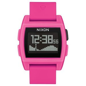 当店1年保証 ニクソンNIXON Base Tide A1113 - Punk Pink Resin - 109M Water Resistant Men's Digital Surf Watch (38 mm Watc|planetdream
