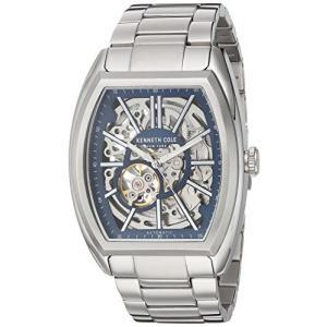 当店1年保証 ケネスコール・ニューヨークKenneth Cole New York Men's Automatic-self-Wind Watch with Stainless-Ste|planetdream