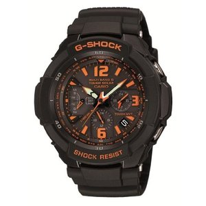 カシオCASIO G-SHOCK SKY COCKPIT Tough Solar Radio Controlled MULTIBAND 6 GW-3000B-1AJF (Japan Import)