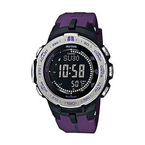 【当店1年保証】カシオCasio PROTREK Slim Line Series Solar Multiband 6 Triple Sensor Ver.3 Men's Watch PRW-3100-6ADR