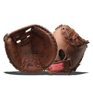 グローブShoeless Joe Gloves Fast Pitch Brown Catchers Mitt, Left Hand, 34-Inch|planetdream