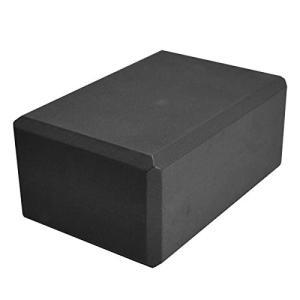 ヨガブロックYoga Direct Deluxe Foam Yoga Block, Black, 4-Inch