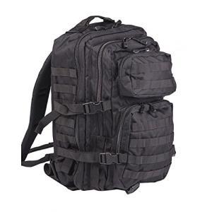 ミリタリーバックパックMil-Tec Military Army Patrol Molle Assault Pack Tactical Combat Rucksack Backpack Bag 36L Black|planetdream