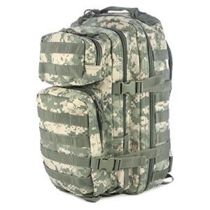 ミリタリーバックパック Mil-Tec Military Army Patrol Molle Assault Pack Tactical Combat Rucksack Backpack Bag 20L ACU Di|planetdream
