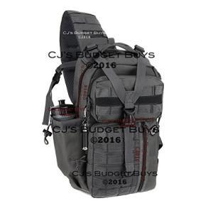 ミリタリーバックパックNexpak USA TL318GMG Gunmetal Gray Grey Tactical Molle 2L Hydration Ready Sling Shoulder Strap Bag|planetdream