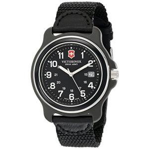 当店1年保証 ビクトリノックスVictorinox Men's 249087 Original XL Black Stainless Steel Watch|planetdream