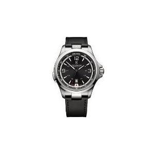当店1年保証 ビクトリノックスVictorinox Men's Night Vision Titanium Swiss-Quartz Watch with Rubber Strap, Black, 21|planetdream