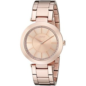 当店1年保証 ダナ・キャラン・ニューヨークDKNY Women's NY2287 STANHOPE Rose Gold-Tone Stainless Steel Watch|planetdream