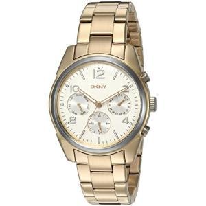 当店1年保証 ダナ・キャラン・ニューヨークDKNY Women's 'Crosby' Quartz Stainless Steel Casual Gold-Toned Watch|planetdream