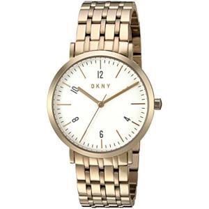 当店1年保証 ダナ・キャラン・ニューヨークDKNY Women's Quartz Stainless Steel Casual Watch, Color:Gold-Toned (M|planetdream