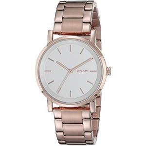 当店1年保証 ダナ・キャラン・ニューヨークDKNY Women's NY2344 SOHO Rose Gold-Tone Stainless Steel Watch|planetdream