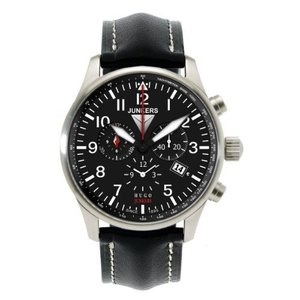 当店1年保証 ユンカースJunkers 150 Years Hugo Junkers Chronograph Alarm Watch 6684-2|planetdream