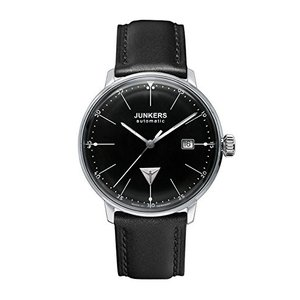 当店1年保証 ユンカースJunkers Bauhaus Swiss ETA Automatic Watch with Domed Hesalite Crystal 6050-2|planetdream