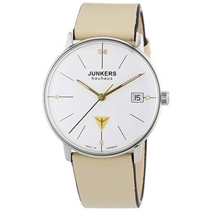 当店1年保証 ユンカースJunkers Women's Quartz Watch with Silver XS Bauhaus Analogue Quartz Leather 60735|planetdream