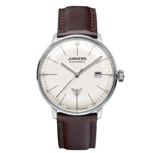 当店1年保証 ユンカースJunkers Bauhaus Swiss ETA Automatic Watch with Domed Hesalite Crystal 6050-5|planetdream