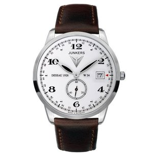 当店1年保証 ユンカースJunkers Men's Watches Dessau 1926 Flatline 6334-1 - 2|planetdream