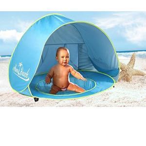 プールMonobeach Baby Beach Tent Pop Up Portable Shade Pool UV Protection Sun Shelter for Infant|planetdream