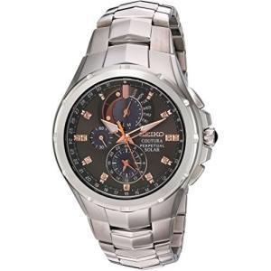 当店1年保証 セイコーSeiko Men's Coutura Japanese-Quartz Watch with Stainless-Steel Strap, Silver, 25 (Model: SSC561) planetdream