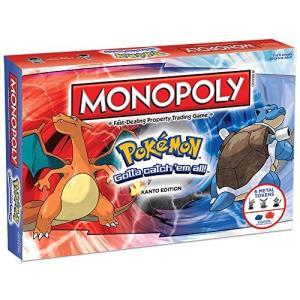 ボードゲームMONOPOLY: Pokemon Kanto ...