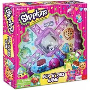 ボードゲームShopkins Pop 'N' Race Ga...