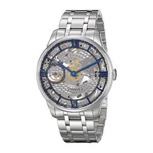 当店1年保証 ティソTissot Men's T0994051141800 T-complication Analog Display Swiss Automatic Silver Watch|planetdream