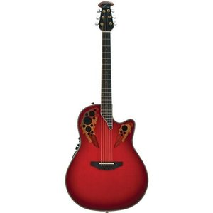 オベーションOvation AX Series C2078AX-RTD Acoustic-Electric Guitar, Red Tear Drop|planetdream