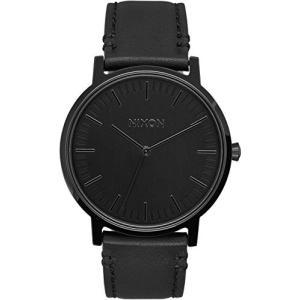 当店1年保証 ニクソンNixon Porter Leather A1058-001 Mens Wristwatch Design Highlight|planetdream